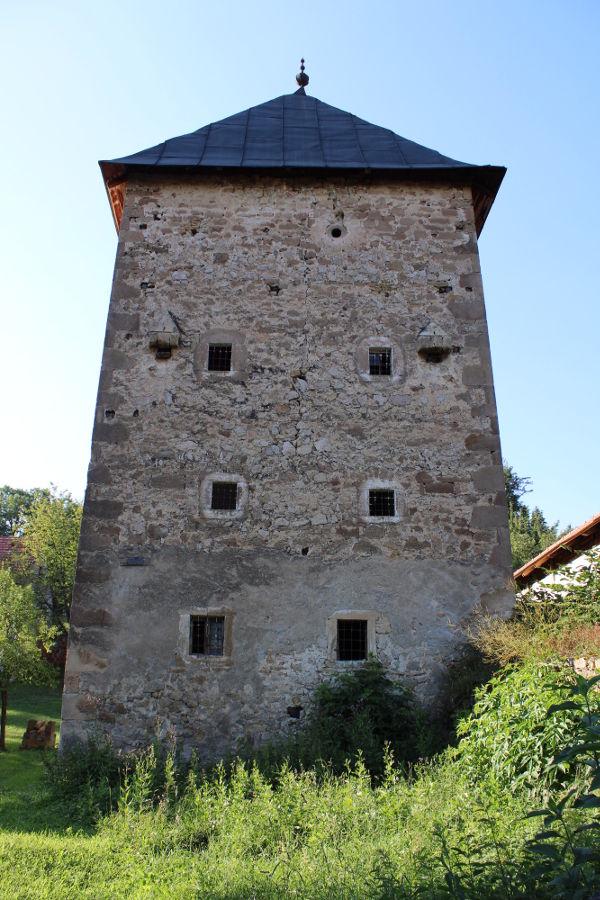 Башня Рустемпашича в Оджаке близ Бугойно. Фото: Елена Арсениевич, CC BY-SA 3.0