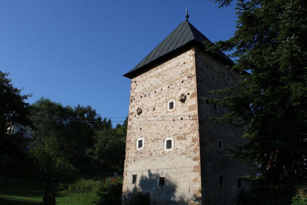 Башня Рустемпашича близ Бугойно. Фото: Елена Арсениевич, CC BY-SA 3.0