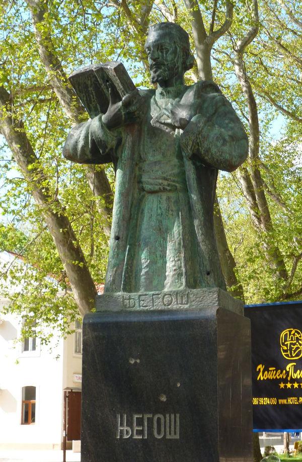 Первый в мире памятник Негошу. Фото: Елена Арсениевич, CC BY-SA 3.0