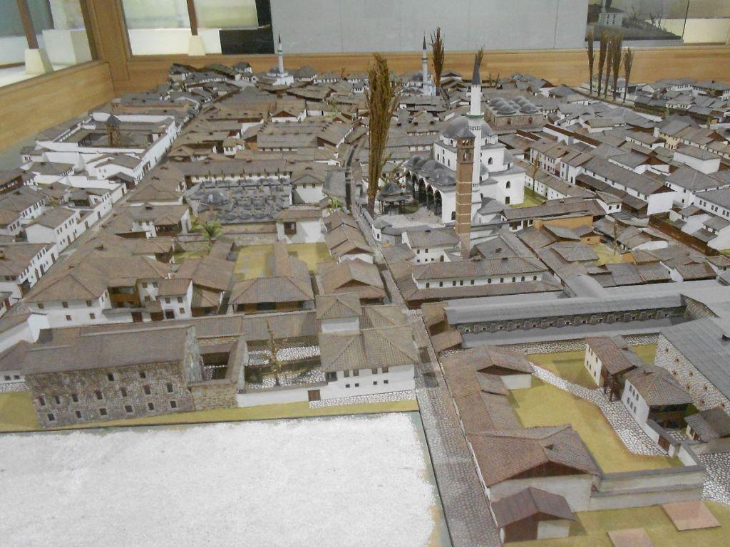 Макет Башчаршии в музее Бруса Безистан. Фото: Елена Арсениевич, CC BY-SA 3.0