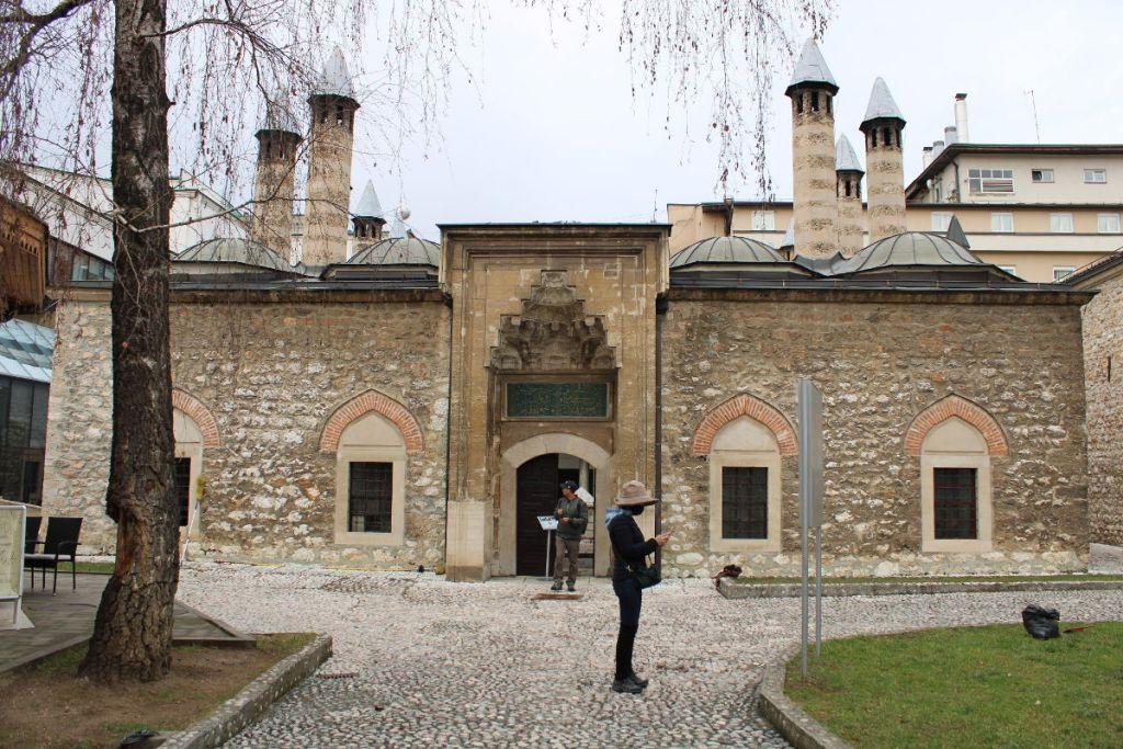 Медресе Куршумлия, сейчас в этом здании музей. Фото: Елена Арсениевич, CC BY-SA 3.0