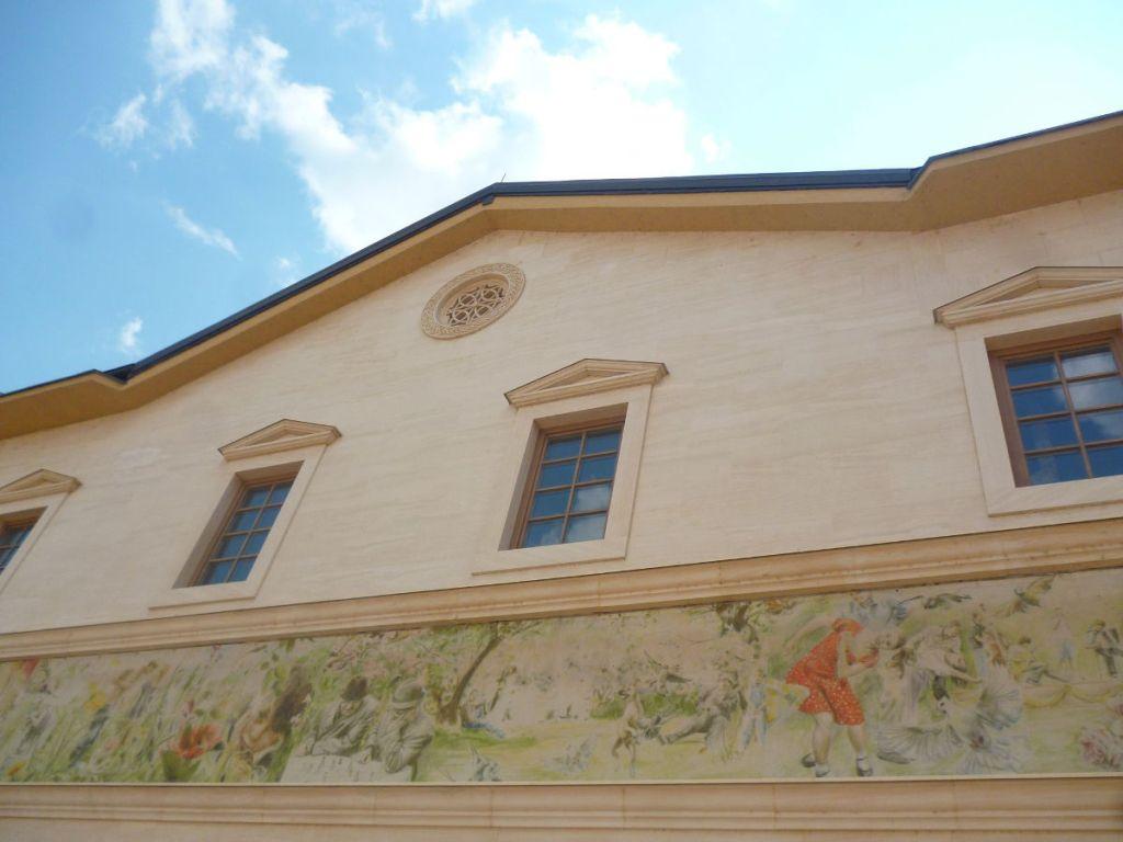 Дом с фреской. Фото: Елена Арсениевич, CC BY-SA 3.0