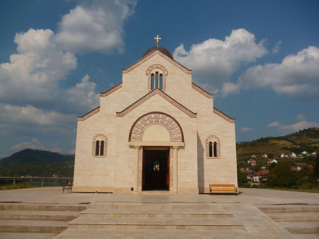 Церковь св. княза Лазара и Косовских мучеников. Фото: Елена Арсениевич, CC BY-SA 3.0