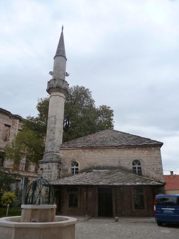 Чейван-чехаина мечеть в Мостаре. Фото: Елена Арсениевич, CC BY-SA 3.0