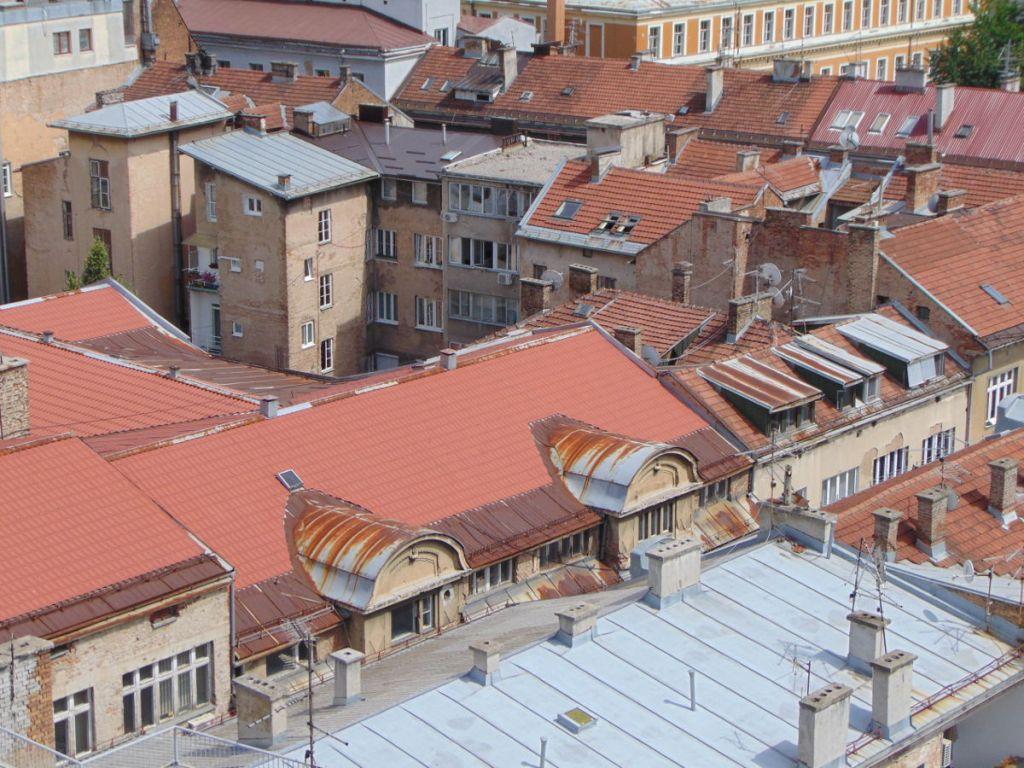 Сараевские крыши. Фото: Елена Арсениевич, CC BY-SA 3.0
