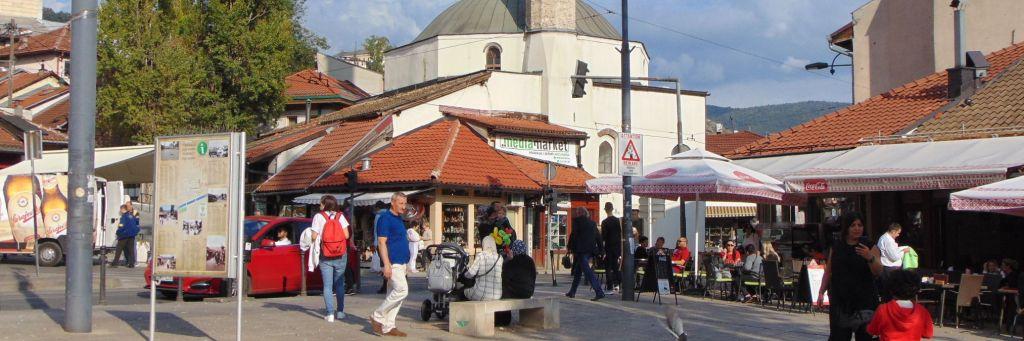 Наследие османского периода в Сараеве. Фото: Елена Арсениевич, CC BY-SA 3.0