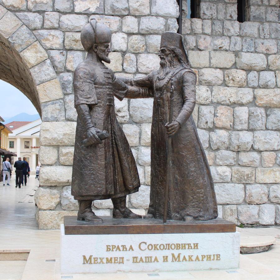 Два брата Соколовича, один великий визирь при дворе султана, второй православный патриарх. Фото: Елена Арсениевич, CC BY-SA 3.0