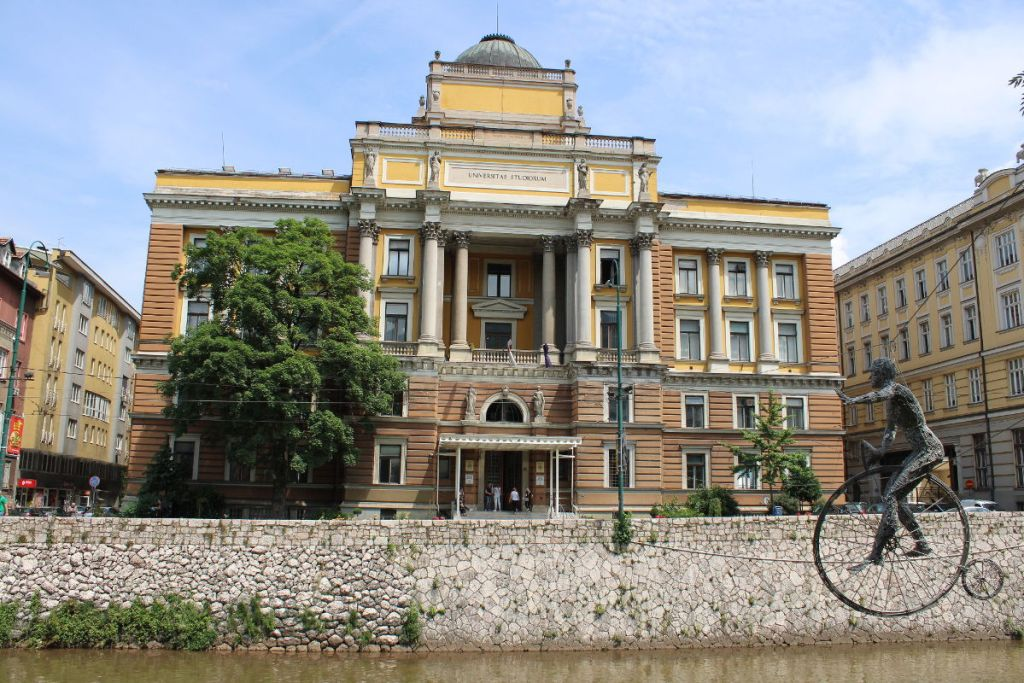 Юридический факультет сараевского университета. Фото: Елена Арсениевич, CC BY-SA 3.0