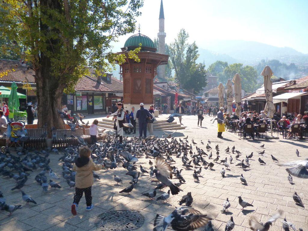Себиль, один из символов города. Фото: Елена Арсениевич, CC BY-SA 3.0