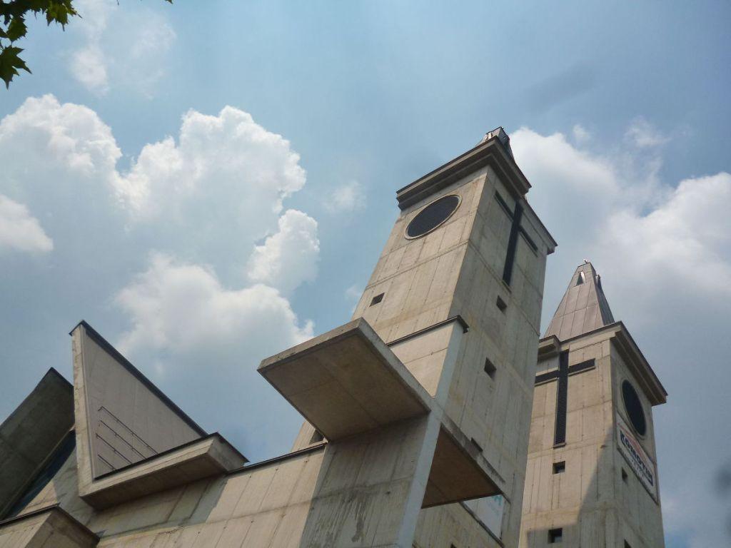 Полетели? Церковь св. Анте в монастыре францисканского ордена Петричевац. Фото: Елена Арсениевич, CC BY-SA 3.0