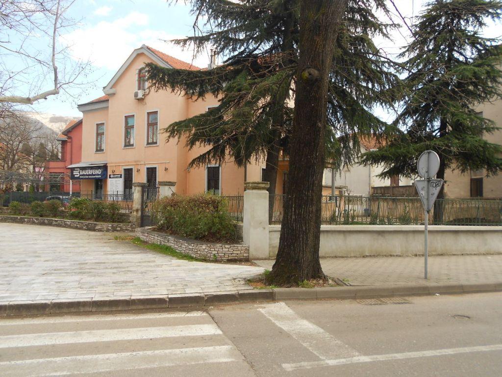 Площадь Рондо и отходящая от неё улица Кралицы Катарины. Фото: Елена Арсениевич, CC BY-SA 3.0