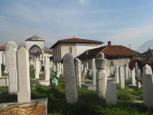 Кладбище рядом с текией. Фото: Елена Арсениевич, CC BY-SA 3.0