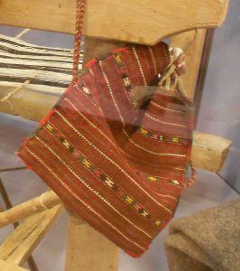 Домотканная торба. Музей в Требине. Фото: Елена Арсениевич, CC BY-SA 3.0