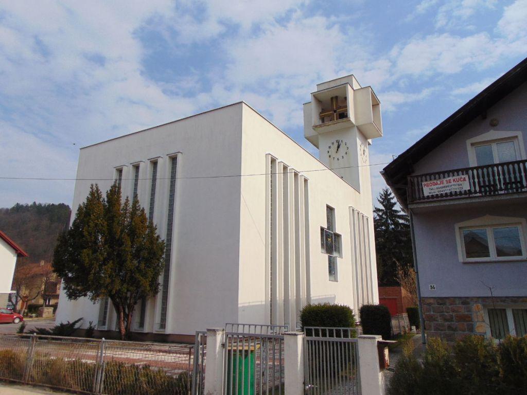 Эффектная архитектура церкви. Фото: Елена Арсениевич, CC BY-SA 3.0