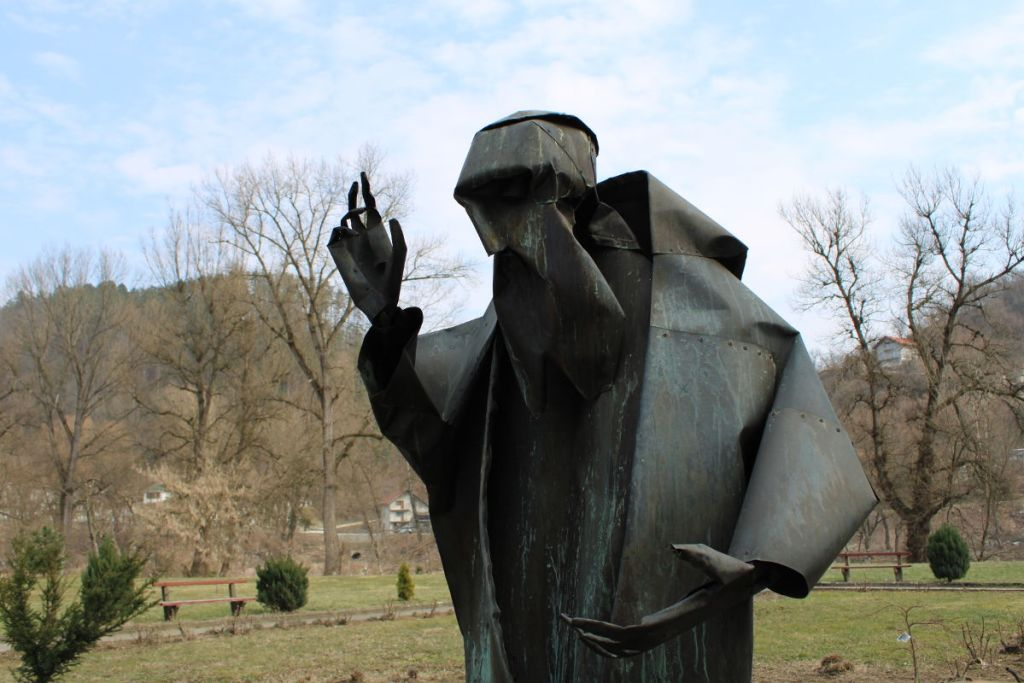 Статуя св. Леопольда Мандича в Маглае. Фото: Елена Арсениевич, CC BY-SA 3.0