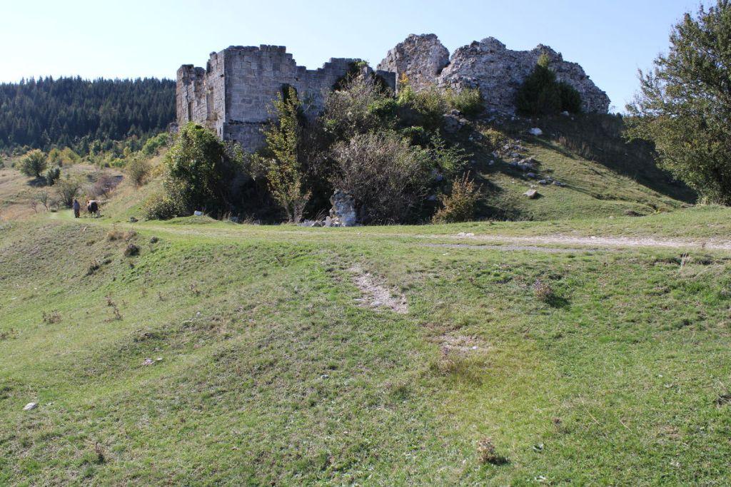 Остатки крепости в Гламоче. Фото: Елена Арсениевич, CC BY-SA 3.0
