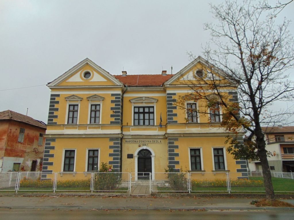 Первая основная школа. Фото: Елена Арсениевич, CC BY-SA 3.0