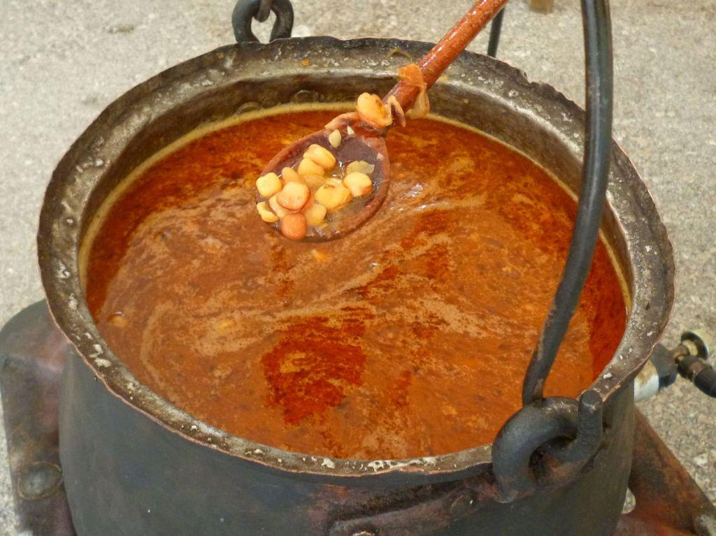 Старинный способ приготовления гороха-поляка. Фото: Елена Арсениевич, CC BY-SA 3.0