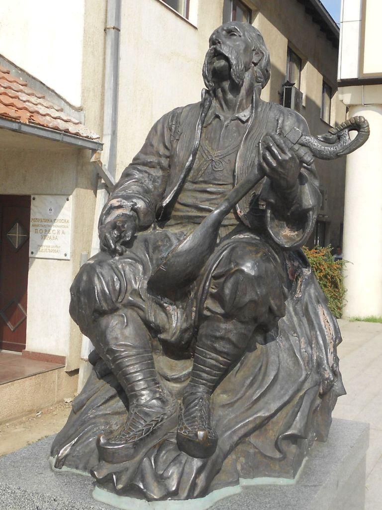 Легендарный гусляр Филип Вишнич. Фото: Елена Арсениевич, CC BY-SA 3.0