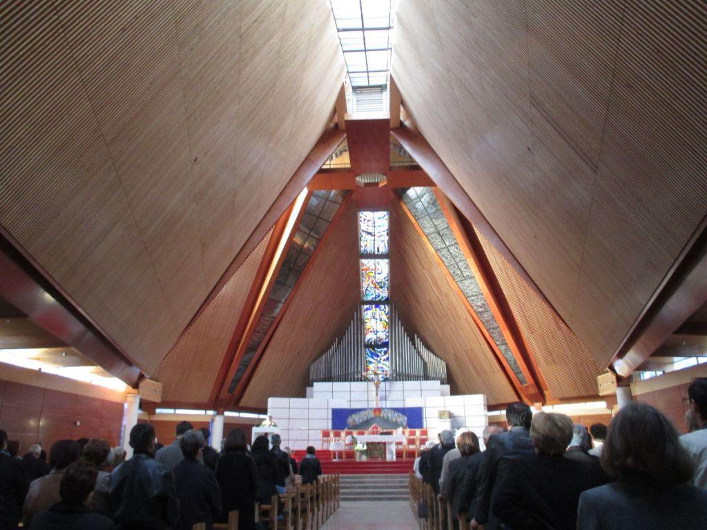 Кафедральный собор в Мостаре. Утренняя служба. Фото: Елена Арсениевич, CC BY-SA 3.0