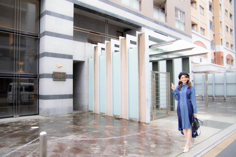 KAISEI江戸堀のエントランス