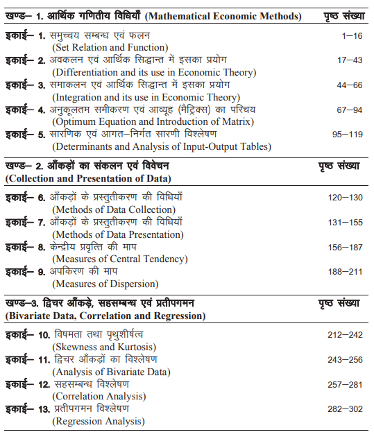 BA 3rd Year Economics Books by UOU