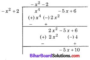 Bihar Board Class 10 Maths Solutions Chapter 2 बहुपद Ex 2.3 Q1.6