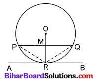Bihar Board Class 10 Maths Solutions Chapter 10 वृत्त Additional Questions LAQ 1