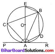 Bihar Board Class 10 Maths Solutions Chapter 10 वृत्त Additional Questions LAQ 2
