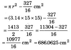 Bihar Board Class 10 Maths Solutions Chapter 12 वृतों से संबंधित क्षेत्रफल Ex 12.2 Q6.2
