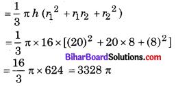 Bihar Board Class 10 Maths Solutions Chapter 13 पृष्ठीय क्षेत्रफल एवं आयतन Ex 13.4 Q4
