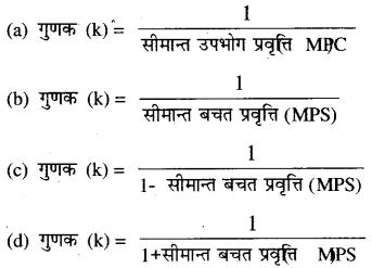Bihar Board 12th Economics Objective Important Questions Part 5, 6