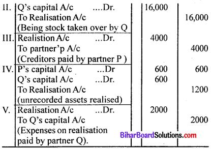 Bihar Board 12th Accountancy Model Question Paper 1 in English Medium Q31.1