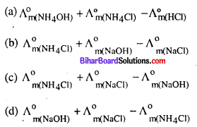 Bihar Board 12th Chemistry Objective Answers Chapter 3 वैद्युतरसायन 19