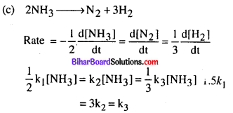 Bihar Board 12th Chemistry Objective Answers Chapter 4 Chemical Kinetics 2
