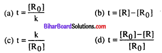 Bihar Board 12th Chemistry Objective Answers Chapter 4 Chemical Kinetics 8