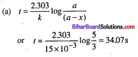 Bihar Board 12th Chemistry Objective Answers Chapter 4 Chemical Kinetics 9