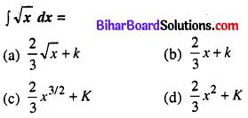 Bihar Board 12th Maths Model Question Paper 1 in Hindi Medium MCQ Q30