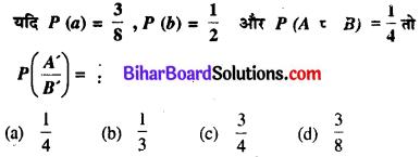 Bihar Board 12th Maths Model Question Paper 3 in Hindi MCQ Q47