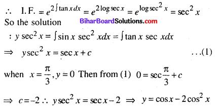 Bihar Board 12th Maths Model Question Paper 4 in English Medium - 28