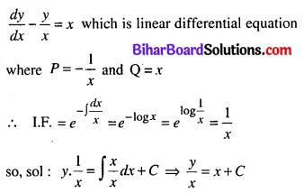 Bihar Board 12th Maths Model Question Paper 5 in English Medium SAQ Q17