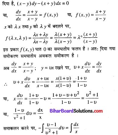 Bihar Board 12th Maths Model Question Paper 5 in Hindi SAQ Q15