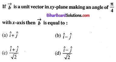 Bihar Board 12th Maths Objective Answers Chapter 10 सदिश बीजगणित Q28