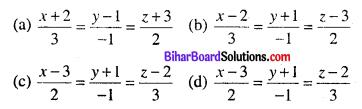 Bihar Board 12th Maths Objective Answers Chapter 11 त्रि-विमीय ज्यामिति Q36