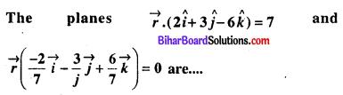 Bihar Board 12th Maths Objective Answers Chapter 11 त्रि-विमीय ज्यामिति Q38