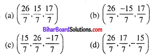 Bihar Board 12th Maths Objective Answers Chapter 11 त्रि-विमीय ज्यामिति Q54