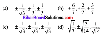 Bihar Board 12th Maths Objective Answers Chapter 11 Three Dimensional Geometry Q1