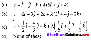 Bihar Board 12th Maths Objective Answers Chapter 11 Three Dimensional Geometry Q22