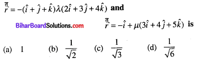 Bihar Board 12th Maths Objective Answers Chapter 11 Three Dimensional Geometry Q37