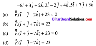 Bihar Board 12th Maths Objective Answers Chapter 11 Three Dimensional Geometry Q51